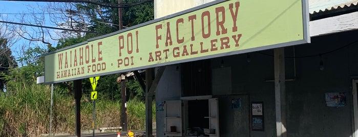 Waiahole Poi Factory is one of Hawaii.