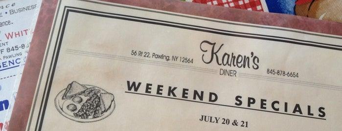 Karen's restaurant is one of Posti salvati di Christopher.