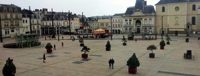 Place de la République is one of Grand'Places de France.