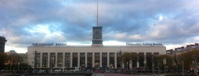 metro Ploshchad Lenina is one of สถานที่ที่ Татьяна ถูกใจ.