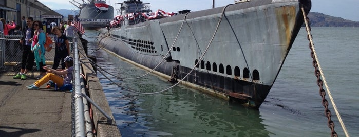 USS Pampanito is one of Exploring San Francisco.