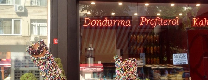 Pandos Dondurma is one of Dondurmaccı 🍦.