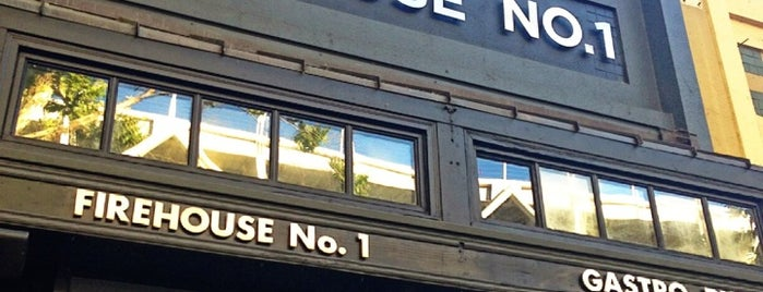 Firehouse No. 1 Gastropub is one of Locais curtidos por Dallin.