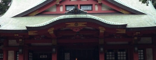 世田谷八幡宮 is one of せたがや百景 100 famous views of Setagaya.
