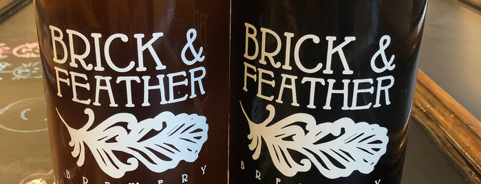 Brick & Feather Brewery is one of New England Breweries.
