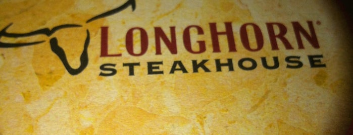 LongHorn Steakhouse is one of Lugares favoritos de Christopher.