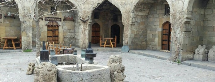 Karvansaray is one of Restaurants in Baku (my suggestions).