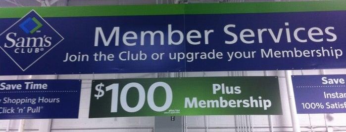 Sam's Club is one of Tempat yang Disukai Tania.