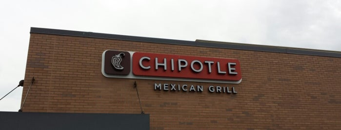 Chipotle Mexican Grill is one of Locais salvos de Rachel.