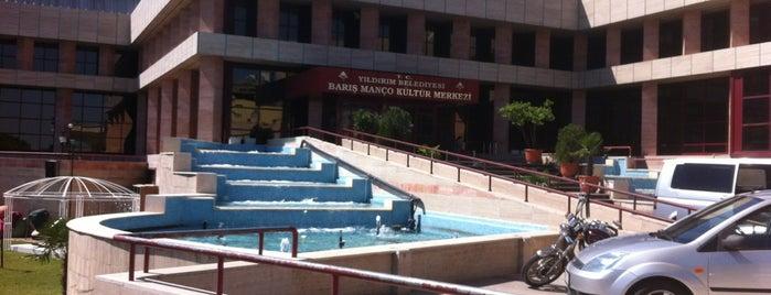 Barış Manço Kültür Merkezi is one of Orte, die Ömer gefallen.