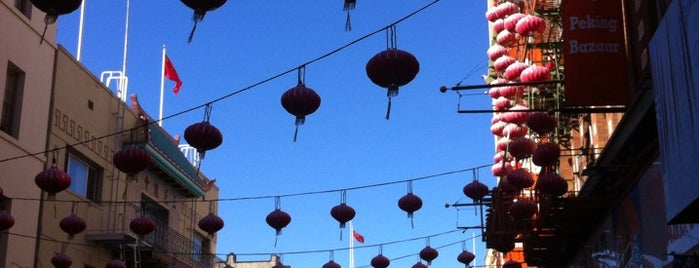 Chinatown is one of Favorite spots in San Francisco.