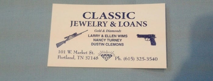 classic jewelry and loans is one of Jedidiah 님이 좋아한 장소.