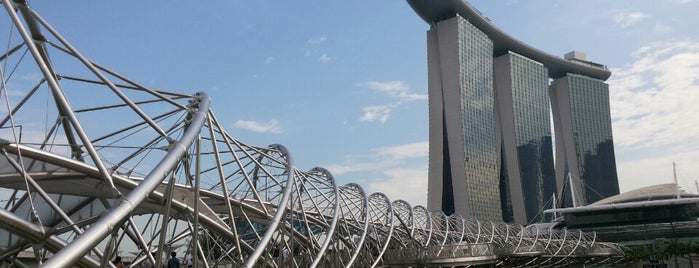 The Helix Bridge is one of Guide to Singapore's best spots.