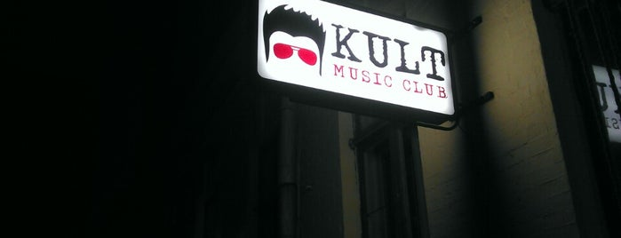 KULT music club is one of Orte, die Anna gefallen.