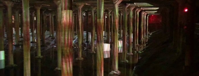 Buffalo Bayou Cistern is one of houston.