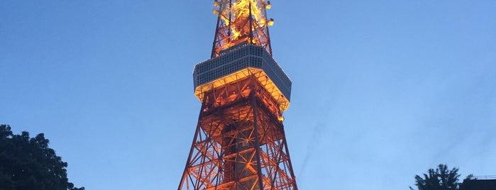 東京タワー is one of 建築マップ(日本)/ Architecture Map (Japan).