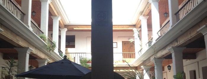 Parador Monte Carmelo hotel is one of Mexico City.
