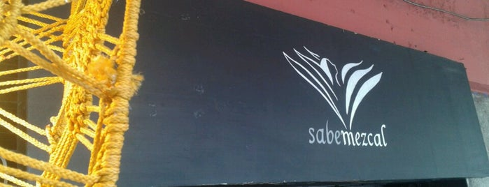 SabeMezcal is one of Prosume Mexico City.