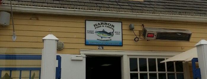 Harbor Fish and Chips is one of Tempat yang Disukai Blondie.