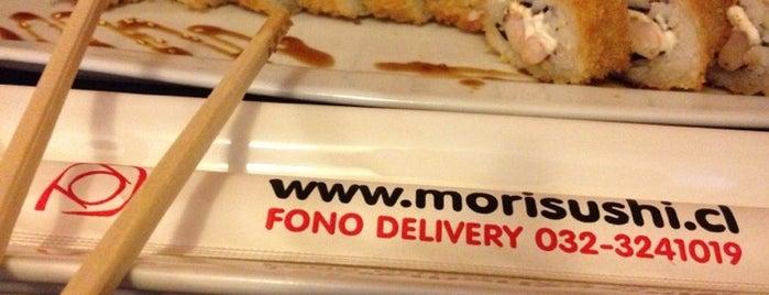 Mori Sushi is one of Lieux qui ont plu à Gigi.