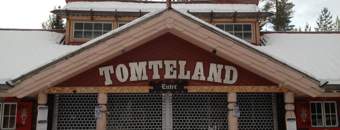 Tomteland is one of Sweden with kid.