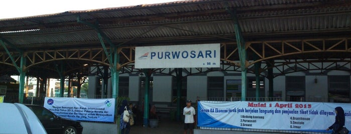Stasiun Purwosari is one of Lieux qui ont plu à Ammyta.