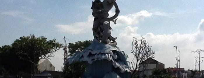 Dewa Ruci Statue (Simpang Siur Roundabout) is one of Bali Indonesia.