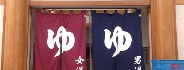 伊香保グランドホテル黄金の湯館 is one of I love spa !.