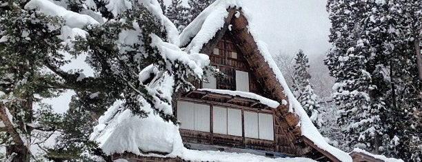 Ainokura Gassho-style Village is one of Orte, die ジャック gefallen.