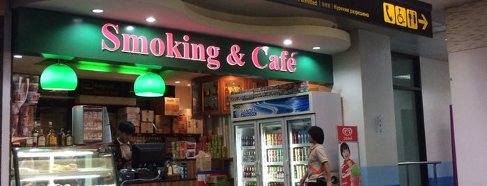 Smoking & Cafe is one of Tested Foods.