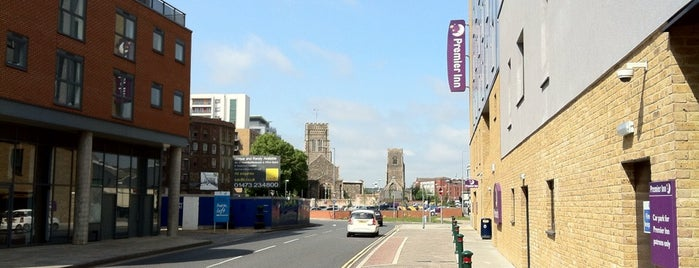 Premier Inn Ipswich Town Centre (Quayside) is one of Lieux qui ont plu à Henry.