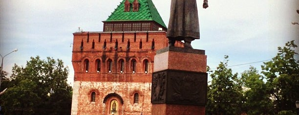 Minin and Pozharsky Square is one of Posti salvati di Anna.