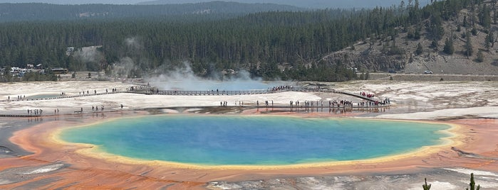 Grand Prismatic Spring is one of PNW Road Trip.