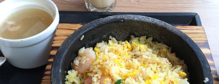 Paradise Inn (乐天客栈) is one of Veggie choices in Non-Vegetarian Restaurants.