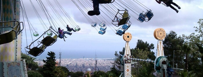Tibidabo is one of Barcelona / Essentials.
