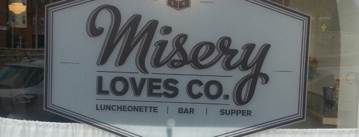 Misery Loves Co. is one of Burlington to-do.