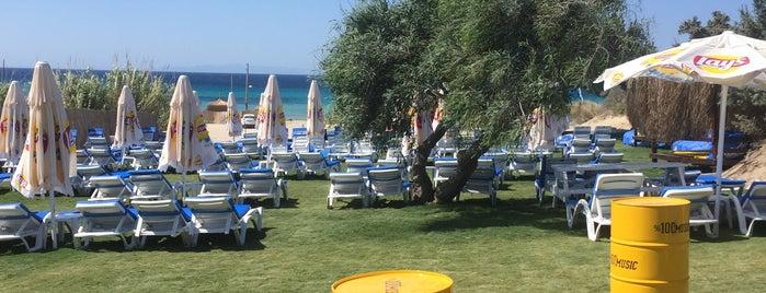 The Beach Altınkum is one of İzmir.