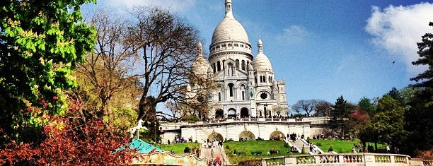 Montmartre is one of Jas' favorite urban sites.