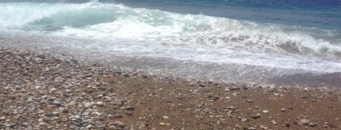Windy Beach is one of Rhodes.