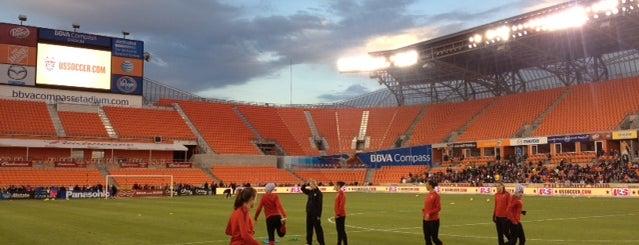 BBVA Compass Stadium is one of US Pro Sports Stadiums - ALL.