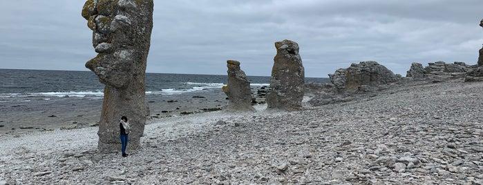 Langhammars, Fårö is one of Gotland.