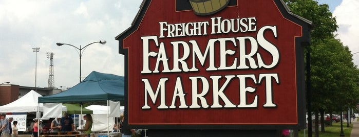 Freight House Farmer's Market is one of Jared's Liked Places.