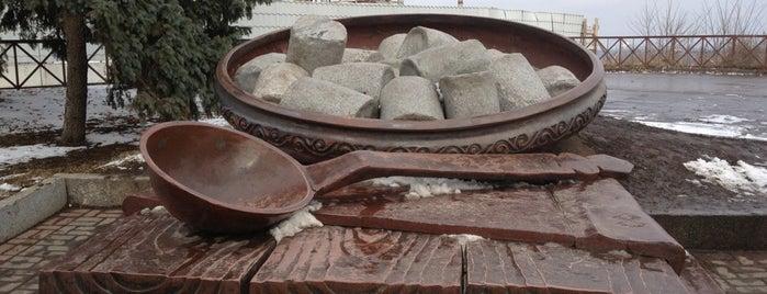 Пам'ятник полтавській галушці is one of Oleksandr 님이 좋아한 장소.