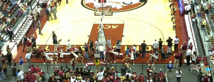Tallahassee Leon County Civic Center (Tucker Center) is one of ACC Basketball Arenas.