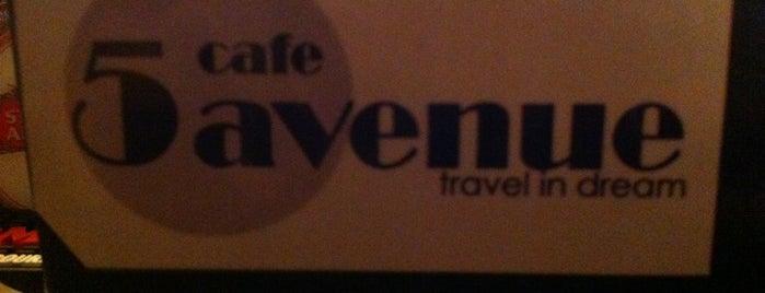 5 Avenue Cafe is one of Yunus'un Kaydettiği Mekanlar.