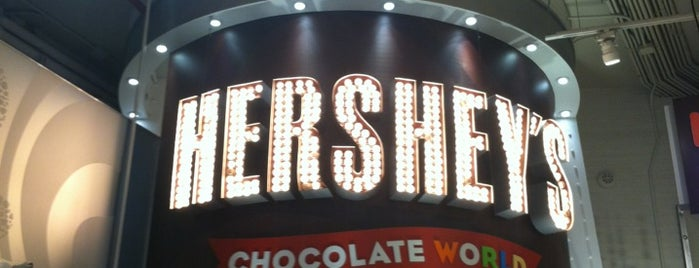Hershey's Chocolate World is one of New York Places.