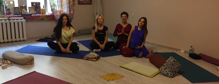 Nataraja School of Yoga | Home Yoga Studio is one of Йога.