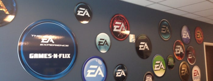 Electronic Arts is one of Tempat yang Disukai Keith.
