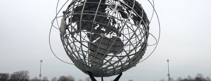 The Unisphere is one of NEW YORK.
