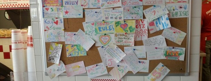 Five Guys is one of Foodie.